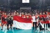 SEA Games 2019, tim voli putra Indonesia raih medali emas