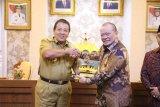 Gubernur Lampung-Ketua DPD dorong percepatan pembangunan