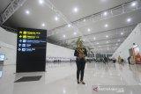 Suasana area boarding pass di terminal baru Bandara Syamsudin Noor di Banjarbaru, Kalimantan Selatan, Selasa (10/12/2019). PT. Angkasa Pura I (Persero) resmi mengoperasikan terminal baru Bandara Syamsudin Noor tepat pukul 05.00 WITA pada Selasa (10/12/2019). Foto Antaranews Kalsel/Bayu Pratama S.
