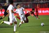 Indonesia sementara tertinggal 0-1 dari Vietnam di babak pertama