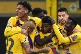Barcelona dan kubur mimpi Inter ke fase gugur