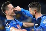 Arkadiusz Milik sumringah kemas trigol Champions pertamanya yang loloskan Napoli