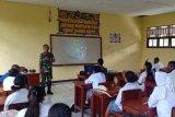 Satgas Pamtas RI-PNG gelar penyuluhan bahaya narkoba kepada pelajar Keerom