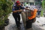 Sosialisasi proses pemadaman kebakaran