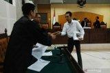 Mantan Kasi Inteldakim Mataram dituntut lima tahun kurungan