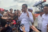 Jokowi: Pencalonan Gibran bukan penunjukan
