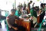 Kodim Sangihe menggelar donor darah menyambut Hari Juang TNI AD