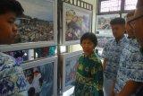 Antara gelar pameran foto, siswa sebutkan  foto penanganan tsunami paling berkesan