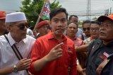 Gibran resmi terdaftar sebagai bakal calon Wali Kota Surakarta