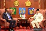 Prabowo inginkan kerja sama industri pertahanan RI dan UEA
