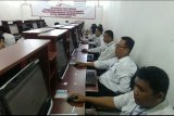 Ratusan calon Panwascam Kota Bandarlampung jalani CAT