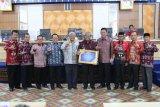 Pemkab Lampung Tengah raih penghargaan WTP