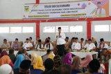 Dialog bersama warga, Bupati Tanah Datar sampaikan pembangunan dan program unggulan daerah