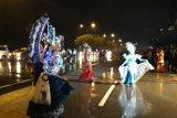 Batam Night Carnaval dan Pawai Budaya di guyur hujan