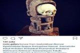 Tengkorak Asmat dan patung Korwar dijual secara daring di Eropa