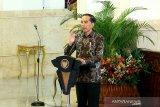 Presiden Jokowi harap Ketua DPR percepat omnibus law