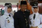 Wakil Bupati Blitar saksikan dua istrinya dilantik jadi kepala desa