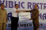 AP I bantu pembangunan MCK di Pantai Lasiana