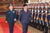 Prabowo dan Menhan China bicarakan peningkatan kerja sama pertahanan