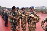 Kasum TNI  Letjen TNI Joni Supriyanto lepas 1.234 diplomat militer ke Lebanon