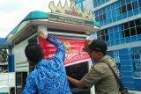 Karena tidak bayar pajak Pemkot Bandarlampung segel lahan parkir RSUD AM