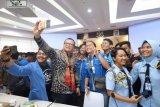 Menteri Edhy mendorong generasi muda untuk berwiraswasta perikanan