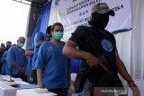 Pemusnahan Narkoba hasil tangkapan BNN Sulsel