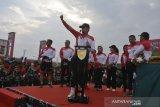 Sepeda ontel meriahkan gowes hari juang TNI di Palembang
