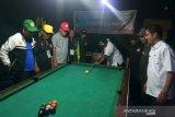 Wabup buka turnamen Billiard Porkab Rohil. Wasit diminta jujur