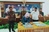 BPP Kendari-Pemprov Sulbar taken MoU komitmen dorong produktivitas