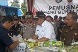 Gubernur apresiasi Polda dan BNNP Lampung dalam pencegahan dan pemberantasan narkoba