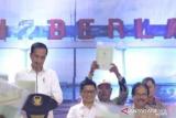 Presiden Jokowi serahkan sertifikat tanah warga di Tarakan