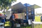 Dinsos menyiapkan dapur umum lapangan di lokasi relokasi nelayan