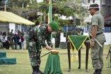 Minum air kelapa muda warnai peringatan Hari Infantri TNI