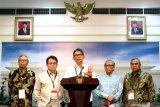 Presiden Jokowi serahkan pemenang desain ibu kota kepada Dewan Juri