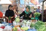 Wagub Lampung Chusnunia buka kegiatan pangan murah jelang Natal