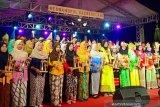 Kampoeng Dolanan Borobudur Magelang gelorakan angklung kebangsaan