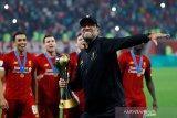 Klopp akui Liverpool tak maksimal saat jadi pemenang