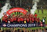 Hasil dan klasemen Liga 1: Bali United juara