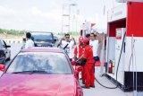 Konsumsi Pertamax tinggi di Tol Trans-Sumatera pada 21 Desember