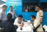 BNN bersama Dishub Provinsi Lampung tes urine sopir angkutan penumpang