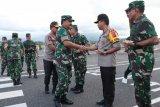 Kapolri dan Panglima TNI Kunjungi Sulut