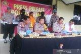 Seorang buruh tani di Gumas diduga nyambi edarkan narkoba
