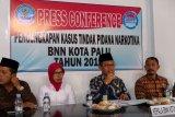 BNN: Lima kasus narkoba di Palu diungkap sepanjang 2019