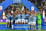 Piala Super Italia -- Lazio menang untuk kelima kalinya usai hantam Juventus 3-1