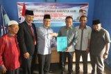 Kompak,  Andri Warman-Irwan Fikri langsung berpasangan mendaftar maju Pilkada Agam ke Demokrat