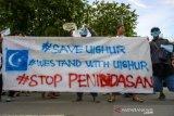 Solidaritas untuk muslim Uighur