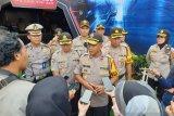 Personel Polda Sumatera Selatan  jaga keamanan Natal-Tahun Baru