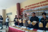 Polisi sebutkan 210 kilogram ganja akan diedarkan pada Tahun Baru 2020