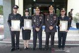 Kapolsek Cempa Pinrang terima penghargaan dari Kapolri